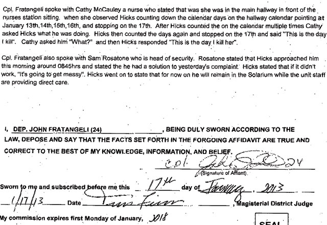 Larry Hicks Pleads Guilty To Making False Statement On Background ...