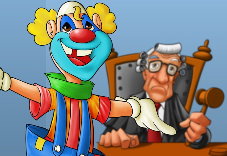 lawsuit-clown