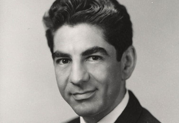 Dr. Jesse Steinfeld during his time as United States Surgeon General / via National Institutes of Health