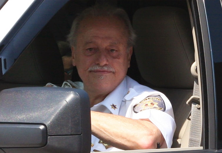 Sheriff George David / file photo by John Paul