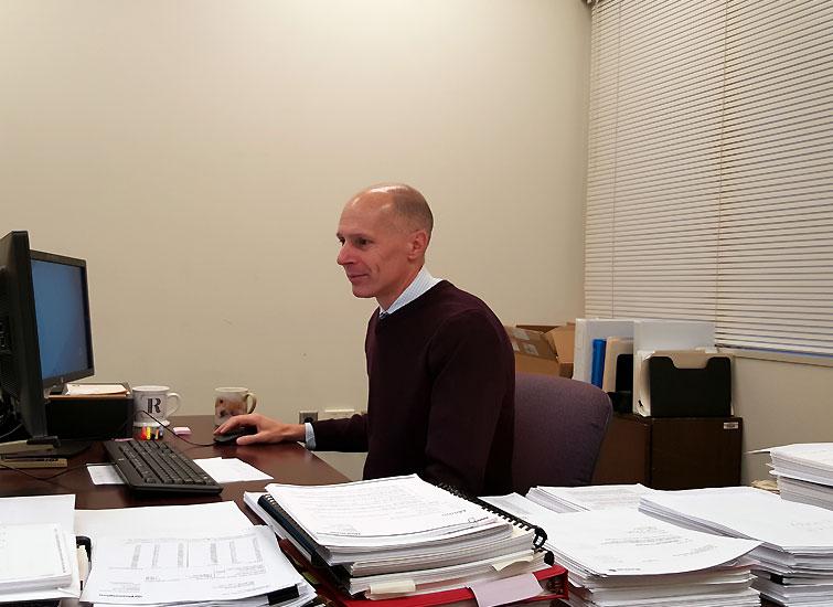 Beaver County Financial Administrator Ricardo Luckow / photo by John Paul
