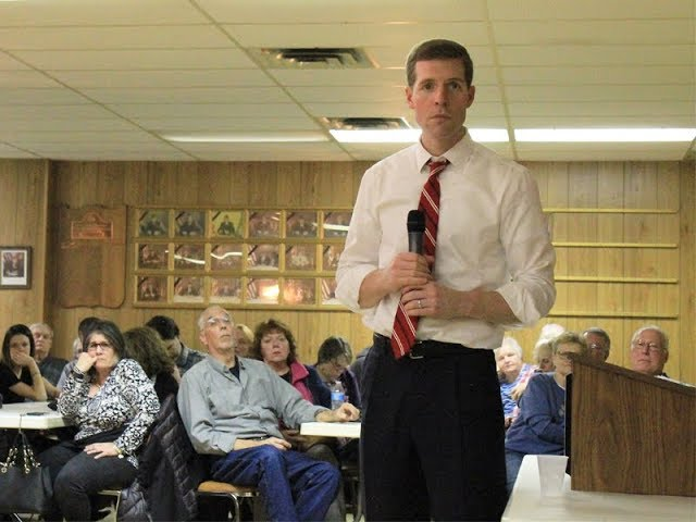 WATCH: Congressman Conor Lamb Answers Questions At Town Hall In Baden