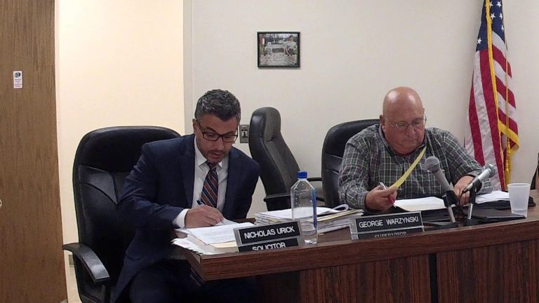 Center Township Conditional Use Hearing for Daycare Center 10-21-2019