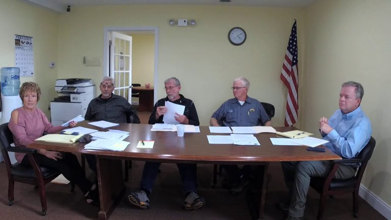 Marion Township General Meeting 10-14-2019