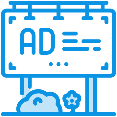Community Dashboard Icon Ads