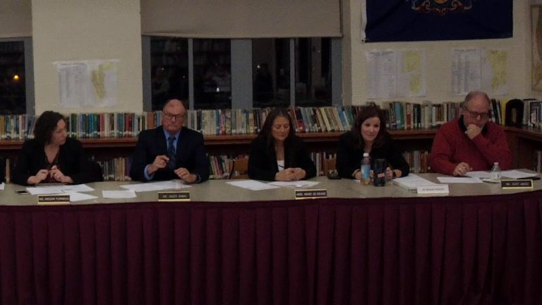 Ambridge School Board Meet and Discuss Meeting 12-4-2019