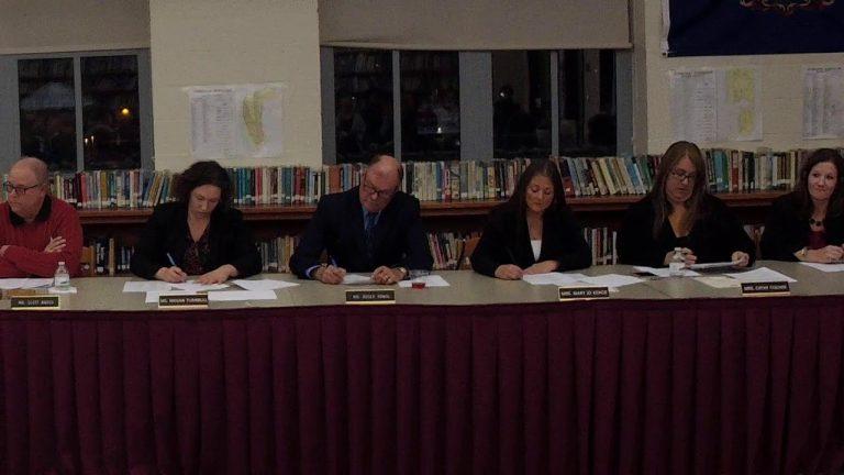 Ambridge School Board Reorganization Meeting 12-4-2019
