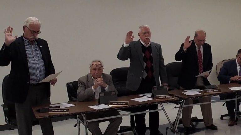 Central Valley School Board Organizational Meeting 12-5-2019
