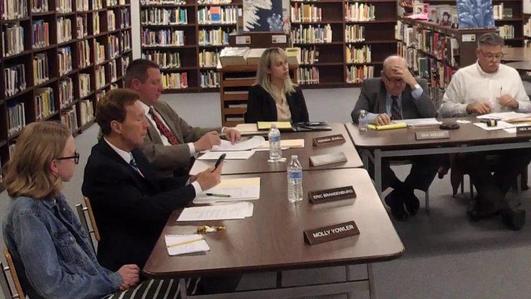Blackhawk School Board Organizational Meeting 12-5-2019