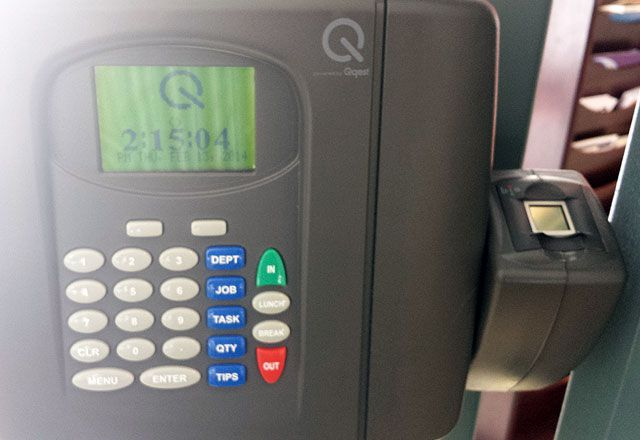 Biometric Time Clock System About To Launch For County Employees