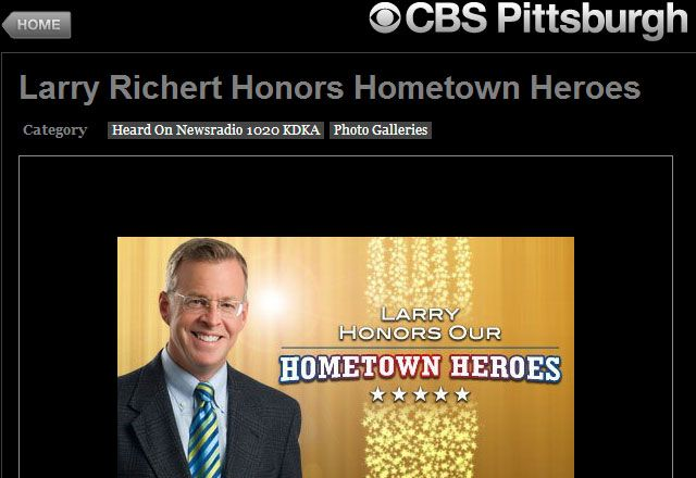 KDKA Remains Silent About Beaver County Hometown Hero Award