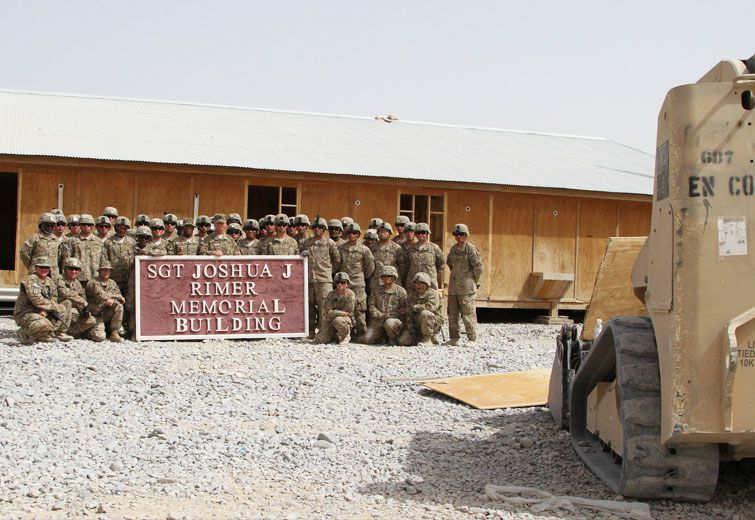 A Sign From A Fallen Soldier – Building's Marker Headed To Beaver County From Afghanistan