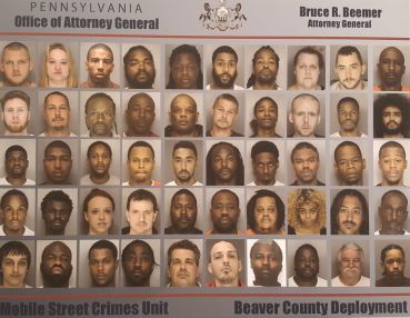 PA Attorney General Announces Names Of Those Arrested In Major Beaver County Drug Operation