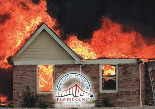 Official County Calendar Featuring Homes Burning To The Ground Causes Outrage In The Courthouse