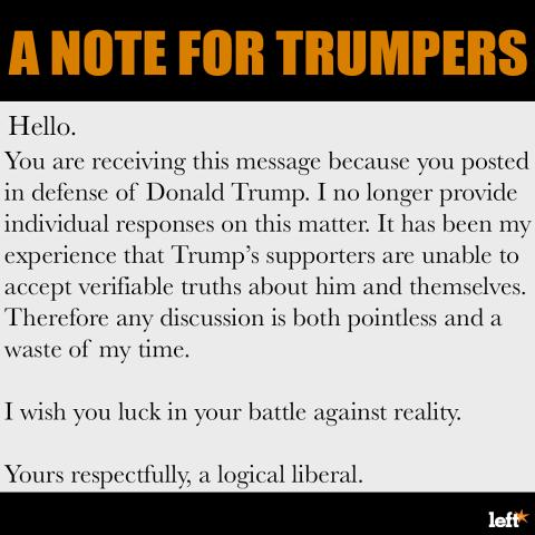 trumper note